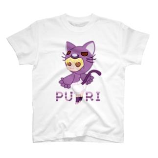 ぷり☆ネコちゃん T-shirts