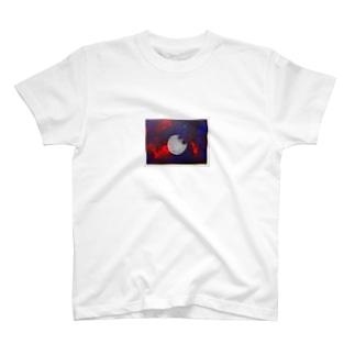 宇宙=自分   (色つき) T-shirts