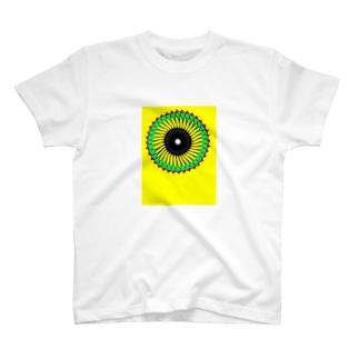 向日葵太陽 T-shirts