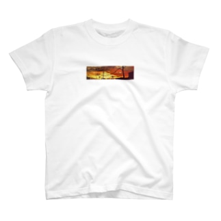 あの日の夕焼け T-shirts