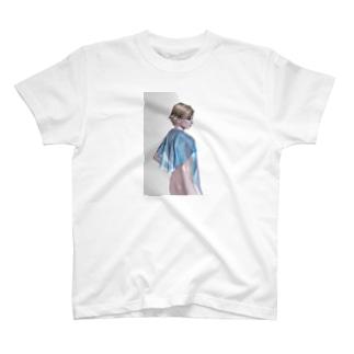 white wind T-shirts