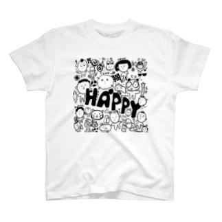 極小ファミリー T-shirts