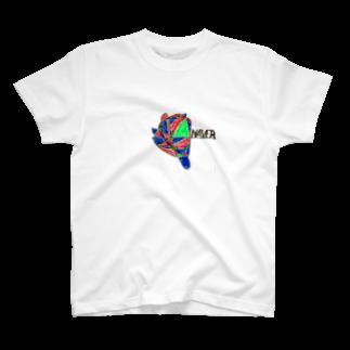 bigmuffobiのdaddysonストーリーズTシャツ T-shirts