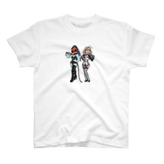 Bontage Alien  T-shirts