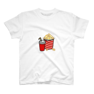 Popcorn and Drinks T-shirts