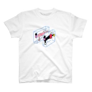 ハンブンマウス T-shirts