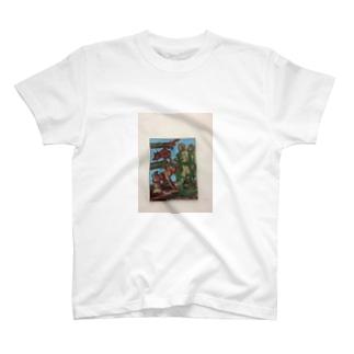 ミュンヘン絵画Tシャツ T-shirts