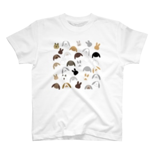 うさぎイラスト1 T-shirts