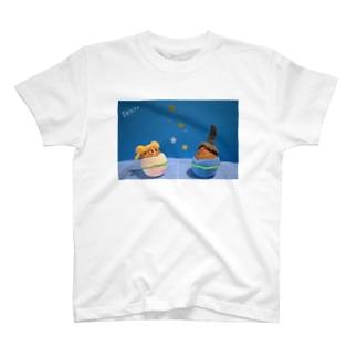 七夕ひこたま☆おりたま T-shirts