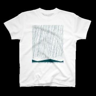 柳智之のmountain or sea T-shirts