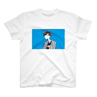 青空サマーボーイ T-shirts