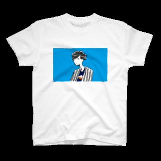 hamの青空サマーボーイ T-shirts
