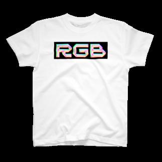 mojiyaのRGB T-shirts