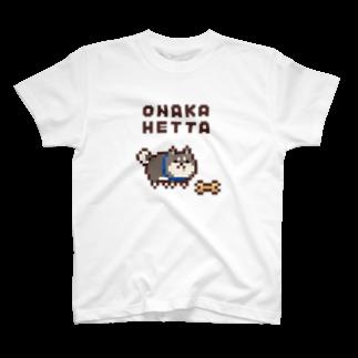 おむすびマーケットのONAKA HETTA T-shirts