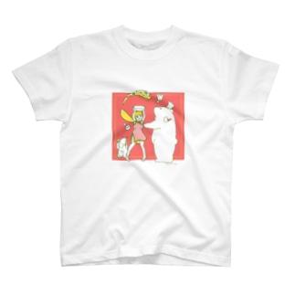 チャーハンしろくま T-shirts