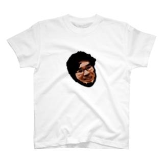 ダークマターに呑み込まれる池崎さん  T-shirts