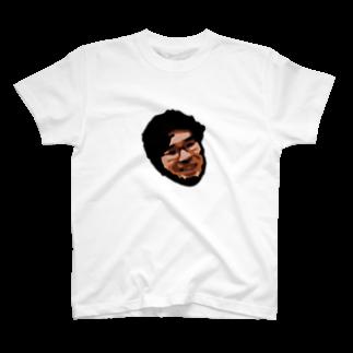 大帝ポペのダークマターに呑み込まれる池崎さん  T-shirts