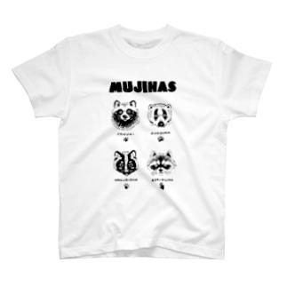 ムジナズ T-shirts