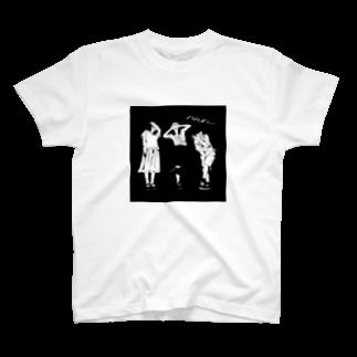 73のスタイリッシュ黒 T-shirts