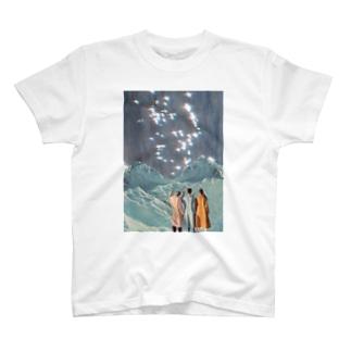 brightest氷山 T-shirts