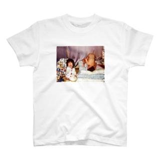 風呂上がりの私と弟 T-shirts