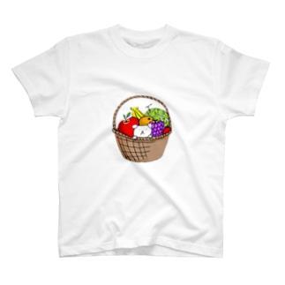 フルーツいぬとろ T-shirts