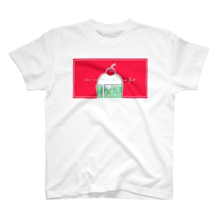 LIKE A SODA FLOAT T-shirts