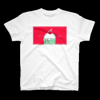 ミアのLIKE A SODA FLOAT T-shirts