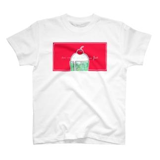 LIKE A SODA FLOAT T-shirts