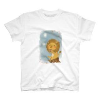 のんびりライオンくん T-shirts