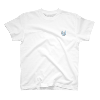 まちゅぴちゅのみずいろのうさぎ T-shirts