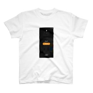 朝気づいたらスクショしがちな画面 T-shirts