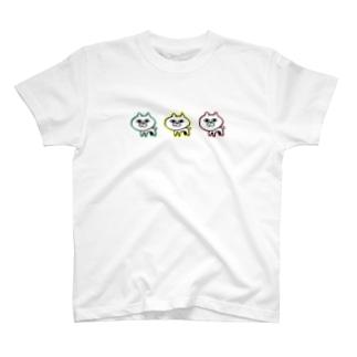 さんびきポポ T-shirts
