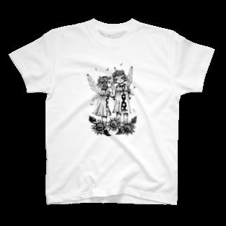 そら豆*の「聞いて」 T-shirts