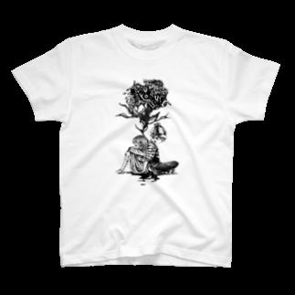そら豆*の「死角」 T-shirts