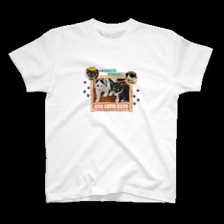 よろず屋あんちゃんのATG CUTIE CATS T-shirts