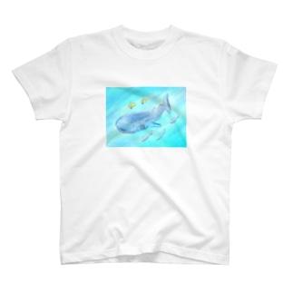 ゆるかわジンベイザメ T-shirts