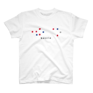 ボッチャ(点字) T-shirts
