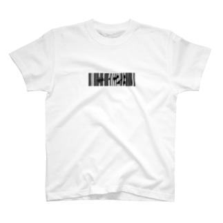 bar code #428  black T-shirts