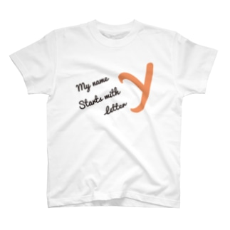 My name starts with letter Y T-shirts