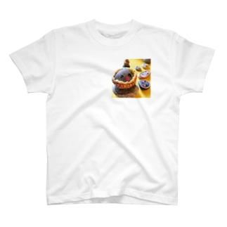 よしのなぽり on lineのイシイさん T-shirts