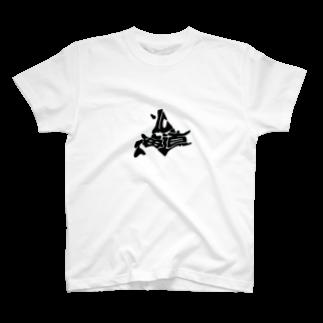 北海道.クラブの蝦夷地くん T-shirts