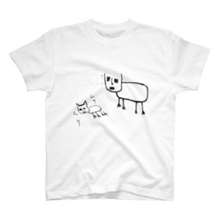 猫好好ちゃん召喚中… T-shirts
