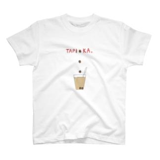 TAPI●KA T-shirts