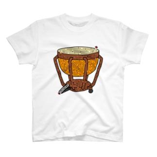 ティンパニ迷路 T-shirts