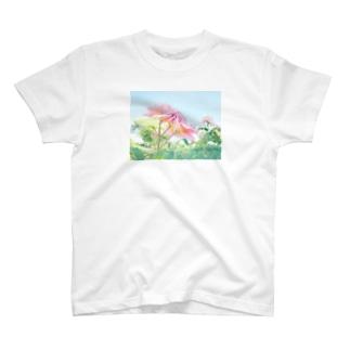 ばらの花 T-shirts