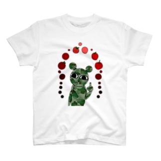 イキクマ軍 T-shirts
