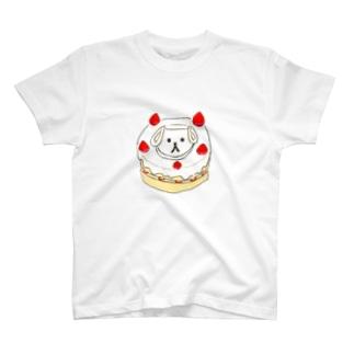 ケーキいぬとろ T-shirts