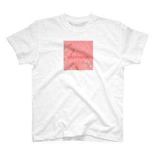 cherreom flowertシャツ🍒 T-shirts