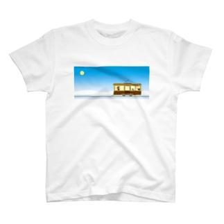 ペンギン路面電車 T-shirts